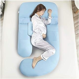 ZSEFV Boyfriend Pillow Maternity Pillow Pregnancy Body Pillow Comfortable, Safe and Durable Sleeping Pillow Maternity Pillow for Side Sleeping (Color : B)