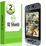 IQ Shield Screen Protector Compatible with Nintendo Switch (2-Pack)(Updated Design) LiquidSkin Anti-Bubble Clear Film