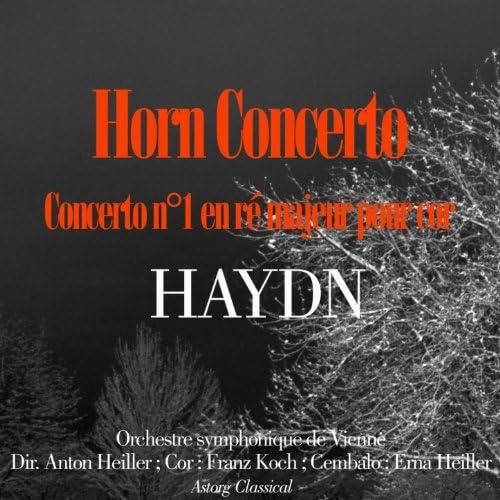 Orchestre Symphonique de Vienne, Anton Heiller, Franz Koch & Erna Heiller