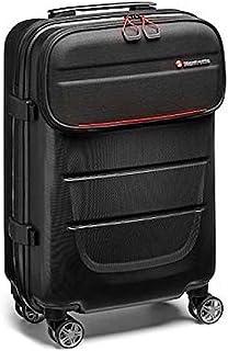 Manfrotto Reloader Spin 55 Pro Light 2 in 1 Trolley und Kamerarucksack, Rucksack für CSC, DSLR, Platz für bis zu 2 Kameragehäuse und Objektive, Tasche für 15 Zoll PC und Tasche für Dokumente