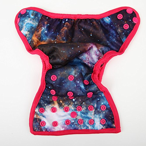 Sigzagor Newborn Baby Diaper Nappy Cover 8lbs-10lbs (Solar System)