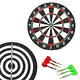 FAST WORLD SHOPPING ® Tiro Al Bersaglio Con Freccette Tiro A Segno Sport Dart Board Giuoco Di Abilità Gioco Di Società
