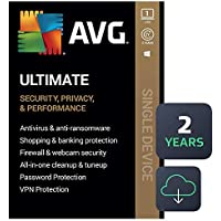 AVG Ultimate 2021 Antivirus+Cleaner+VPN 1 PC, 2 Years (Download)