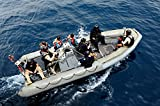 Members of The US Coast Guard US Navy and Gambian Navy in a