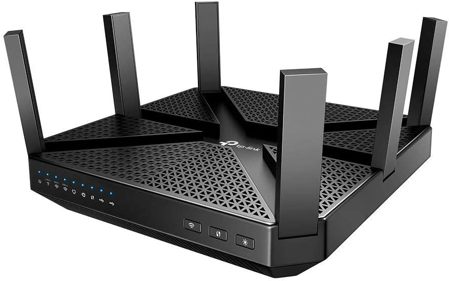 AC4000 MU-MIMO Tri-Band Wi-Fi Router (Renewed)