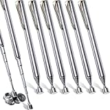 Telescoping Magnetic Grabbers Magnetic Pick-Up Tool with Pocket Clip Telescopic Retrieving Magnet for Screws Nuts Pins, 25 Inch (8)
