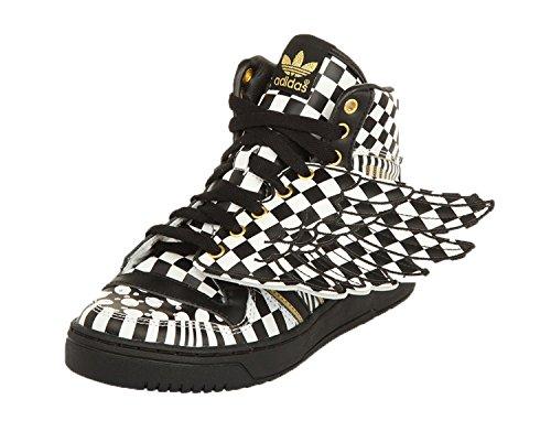 adidas Jeremy Scott Herren Sneakers JS WINGS OPART Schwarz/Weiß G95768, Groesse Eur:37 1/3