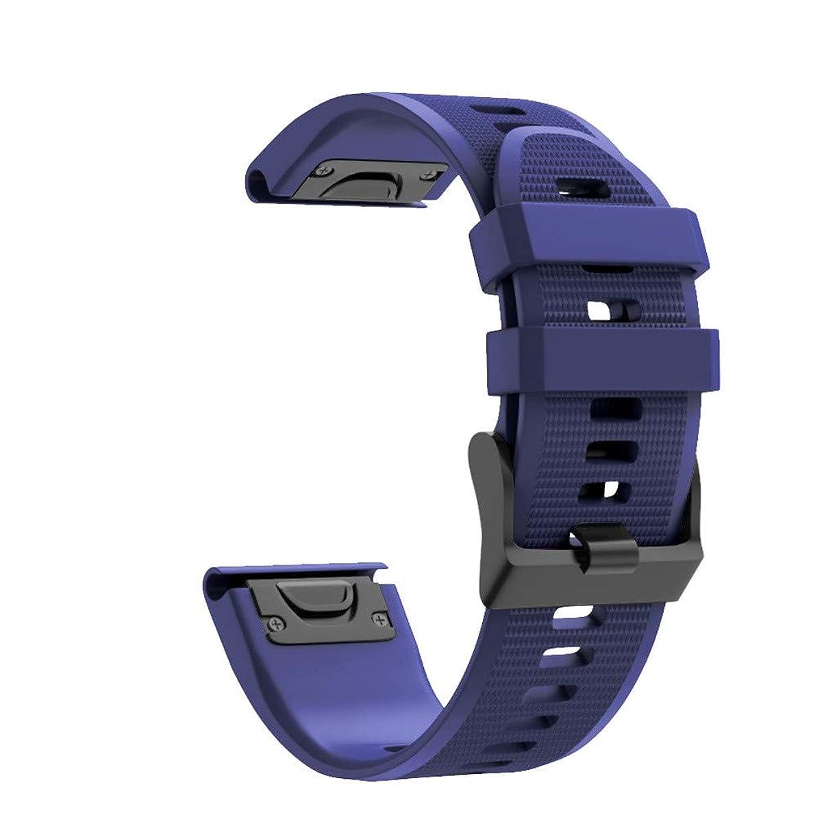記念碑斧有名人4Fires スマートウォッチブレスレットアクセサリー 男性と女性のファッションスポーツストラップ Garmin Fenix 6X/Fenix 6XProと互換性のあるクイックリリースシリコン交換用時計バンドストラップ(幅:26mm)