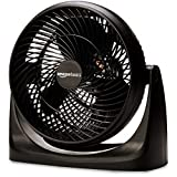 AmazonBasics Air-Circulator 3 Speed Small Room Floor Fan