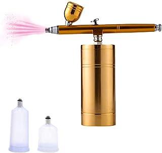 HXZB Multi-Usage sans Fil Airbrush Compresseur d'air Kit Simple À Double Action Pistolet De Peinture Pen Chargeur De Batte...