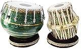 Golden Tabla set, 3 kg Brass bayan, Sheesham Dayan/Table Set/indian table set/music instruments table/set table/trommel table/bayan table/drums table/musik instrument table