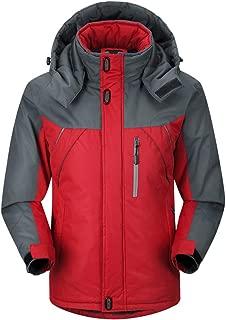 Winter Ski Jacket Man Hooded Fleece Warm Men's Snowboard Coats Sport Skiing Outerwear Cothes Windproof Cotton
