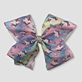 JoJo Siwa Large Cheer Hair Bow (Unicorn Rhinestone)