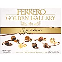 Ferrero Golden Gallery Signature Fine Valentine's Day Candy Gift Box, 8.4 oz (240g)