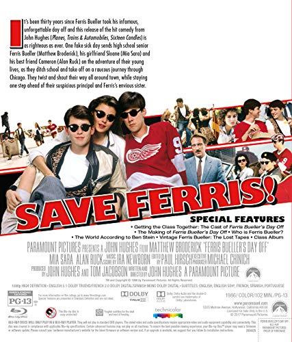 FERRIS BUELLER'S DAY OFF - FERRIS BUELLER'S DAY OFF (1 Blu-ray) [2017]