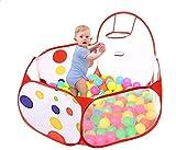 Dosige Babypool Bällebad Bällepool Spielzelt Kinderzelt Babyzelt Pop-Up Zelt für Kindergeschenke Size 1.2M (M)