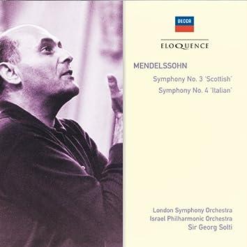 "Mendelssohn: Symphony No.3 - ""Scottish""; Symphony No.4 - ""Italian"""