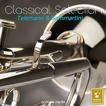 Classical Selection - Telemann & Sammartini : Concertos for Viola & Trumpet Concertos