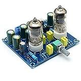 Shumo Placa de Preamplificador de Tubo de VacíO HiFi Amplificador de VáLvula ElectróNica Kit de Bricolaje Ac12V