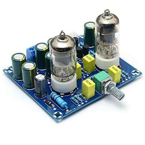 Shumo Placa de Preamplificador de Tubo de VacíO HiFi Amplificador de VáLvula...
