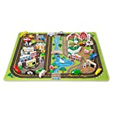 Melissa & Doug Deluxe Activity Road Rug Play Set