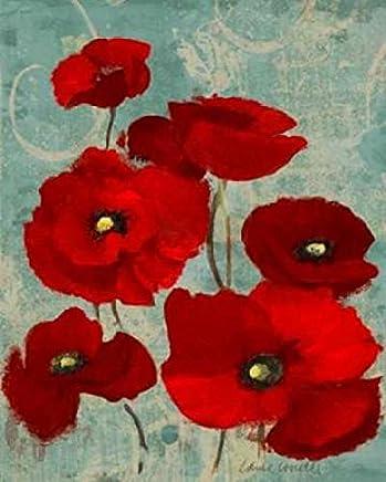 Kindles Poppies I Poster Print by Lanie Loreth (24 x 30)
