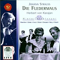 Die Fledermaus by JR. JOHANN STRAUSS (2006-07-29)