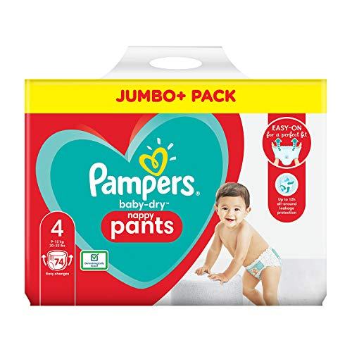 Pampers 81714236 - Baby-dry pants pantalones, unisex