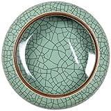 YASE-king La Basura Cenicero de cerámica Melón Shell Lavabo Narciso Antiguo