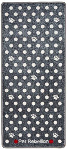 Pet Rebellion Dotty Barrier tapijt, Grijs