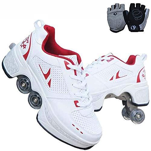 Rolschaatsen, 4 wielen, rolschaatsen, verstelbaar, voor beginners en kinderen.