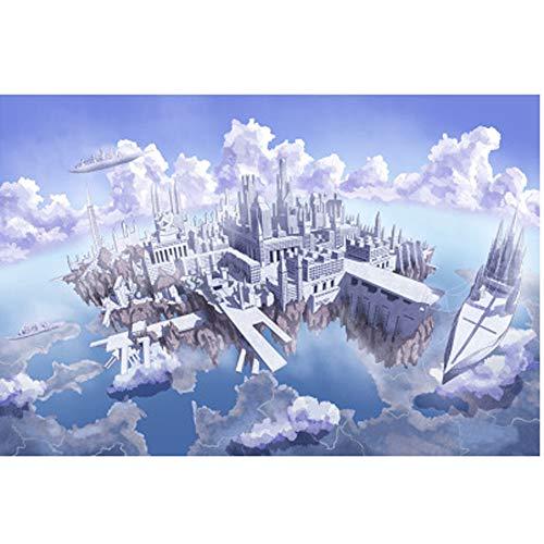 Dongbin 1000 Stück Puzzle Dekompression Spielzeug Holzpuzzle Erwachsene Kinder (regnerische Nacht Reise, Anime Brautkleid),v