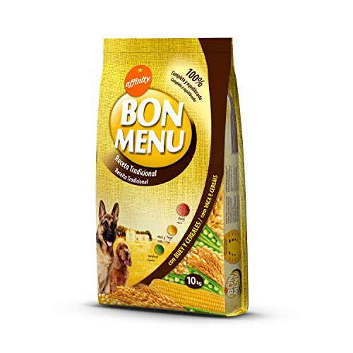 affinity Bon Menu - Receta Tradicional - Comida para Perros
