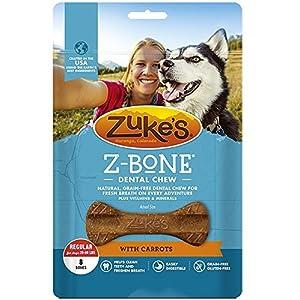 Zuke's Z-Bones Regular Clean Carrot Crisp Dental Dog Treats – 8ct