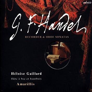 Haendel (Recoder & Oboe Sonatas)