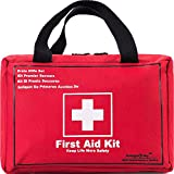 First Aid Only All-Purpose First Aid Kit,130 -Piece Survival Kit,Be Prepared for Office,Home,Car,School,Emergency,Survival,Camping,Hunting