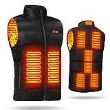 ヒートベスト 電熱ベスト 加熱ベスト 3段階温度調整 USB加熱ジャケット 超軽量 水洗い可能 お釣り/キャンプ/バイク/アウトドア防寒対策 メンズ/レディース