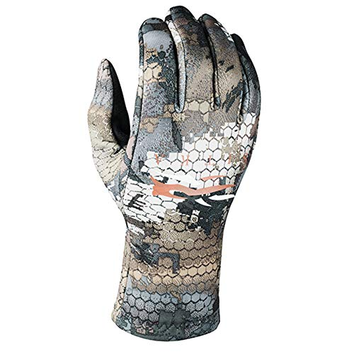 SITKA Gear Gradient Stretch Fleece Camouflage Hunting Gloves, Optifade Timber, Large (90185-TM-L)