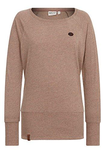 Naketano Female Sweatshirt Groupie, dünnschiss kotze melange, XS