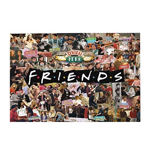 Friends TV Show Collage Jigsaw Puzzle - 300 Pieces