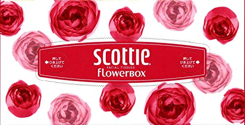 クレシア スコッティ ティシュー フラワーボックス 袋 5箱×1パック