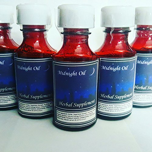 Midnight oil Syrup -Organic Herbal Supplement