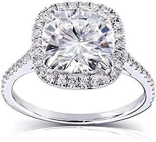 Kobelli Near-Colorless (F-G) Moissanite Engagement Ring 3 ctw 14k Gold