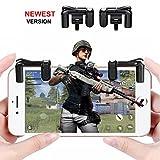 Contrôleur de Jeu Mobile, Cuitan Smartphone Shooter contrôleur pour PUBG,...