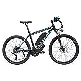 SMLRO Vélo de Montagne électrique, vélo électrique 1000W 26 '' avec Batterie Amovible au...
