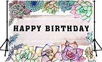 HiYash 5x3ft花の背景花ガラスの絵画パターン写真の背景誕生日パーティーのパーティーバナーの装飾写真撮影の小道具方法広い背景とアートスタジオの小道具の背景