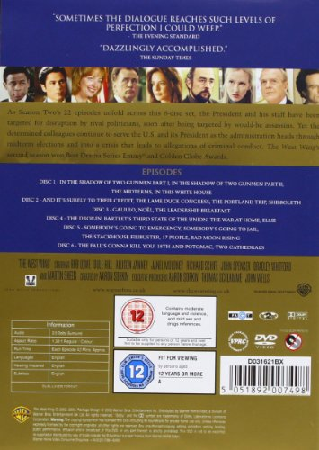 The West Wing: The Complete Series 1-7 [DVD] [2006]