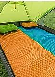 HIZLJJ Außenteppich Picknickmatte Innenteppich Außenteppich Terrassenteppiche Einzelne Picknickmatte Ei durch Falten Feuchtigkeitsauflage für Picknicks, Strände, Wohnmobile und Ausflüge, wetterfest un - 5