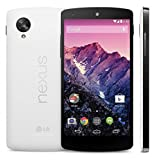 LG Nexus 5 D820 16GB Unlocked GSM 4G LTE Quad-Core Android Smartphone w/ 5' True HD IPS+ Multi-Touchscreen -White