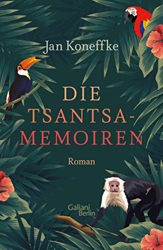 Buchseite und Rezensionen zu 'Die Tsantsa-Memoiren' von Jan Koneffke